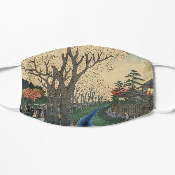 Spring Cherry Trees Blossoms Ukiyo-e Japanese Art Mask