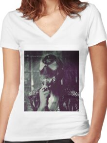 Sir Bob Women's Fitted V-Neck T-Shirt