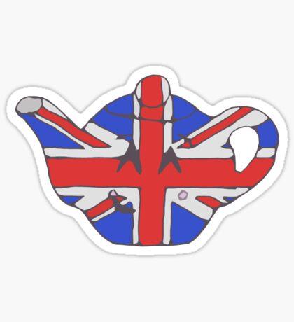 Teapot UK tee Sticker