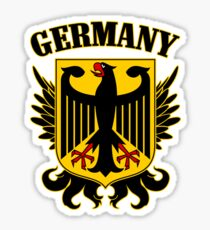 Germany Coat of Arms Sticker