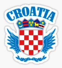 Croatia Coat of Arms Sticker