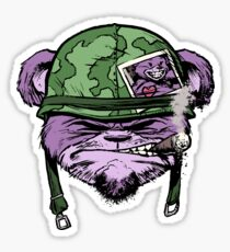 Grizzly Grunt Sticker