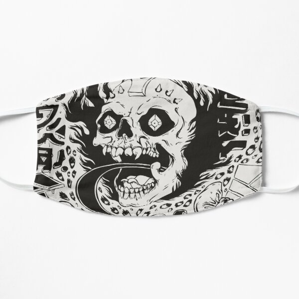 grimes / visions Flat Mask