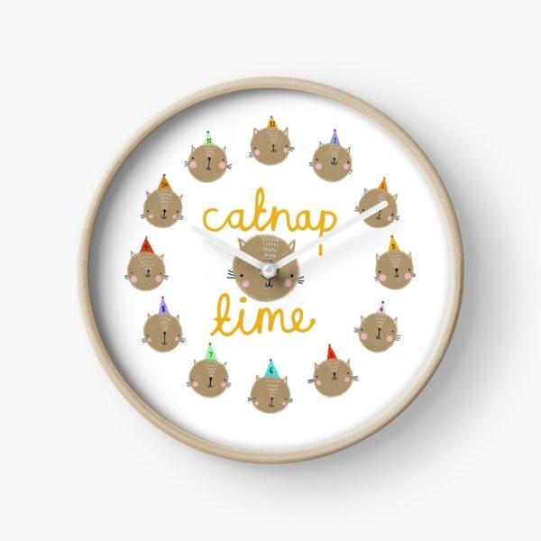 Catnap time Clock
