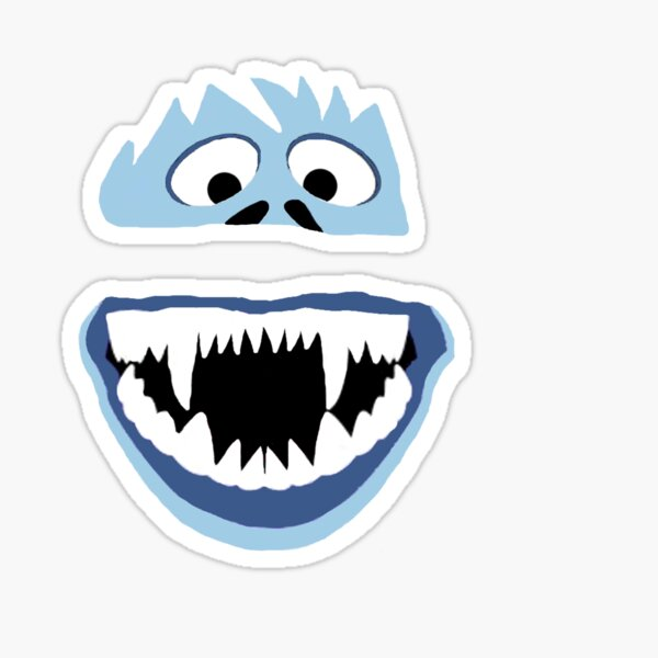 Simple Bumble Face Sticker