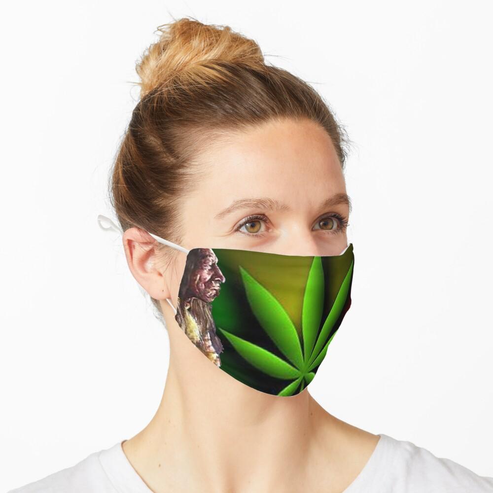 Cancer Cure T-Shirt Design Mask