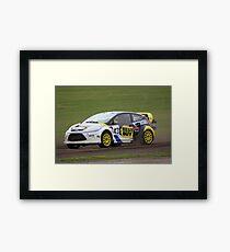 Marcus Gronholm - Ford Fiesta WRC Framed Print