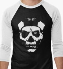 SKULL FACE - solid white T-Shirt