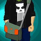 Pixelated Self Portrait by THEtoeMas