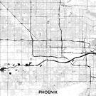 Phoenix Karte Grau von HubertRoguski