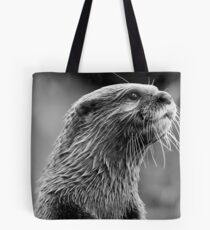Asian small-clawed otter (Aonyx cinerea) Tote Bag