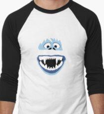 Simple Bumble Face Men's Baseball ¾ T-Shirt