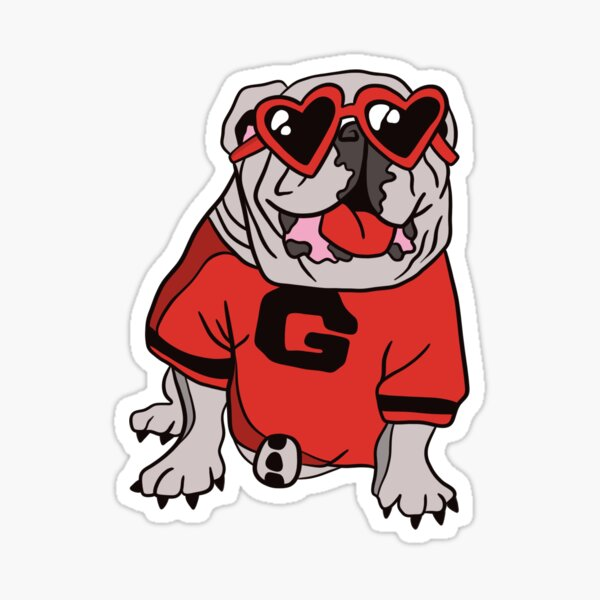 Dawg With Shades Sticker