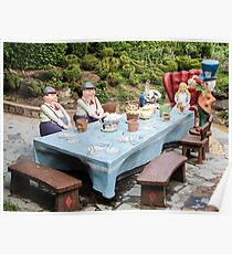 The Mad Hatters Tea Party Poster