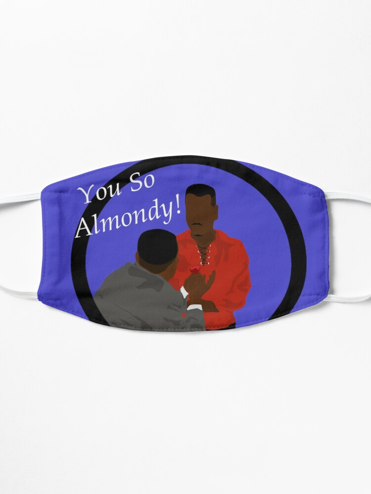Alternate view of You So Almondy!!! Mask