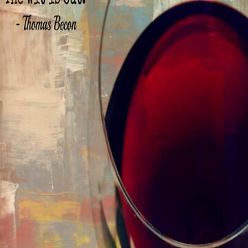 Wine Quote - Thomas Becon by CorxandForx