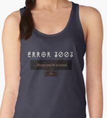 Error 3003 Women's Tank Top