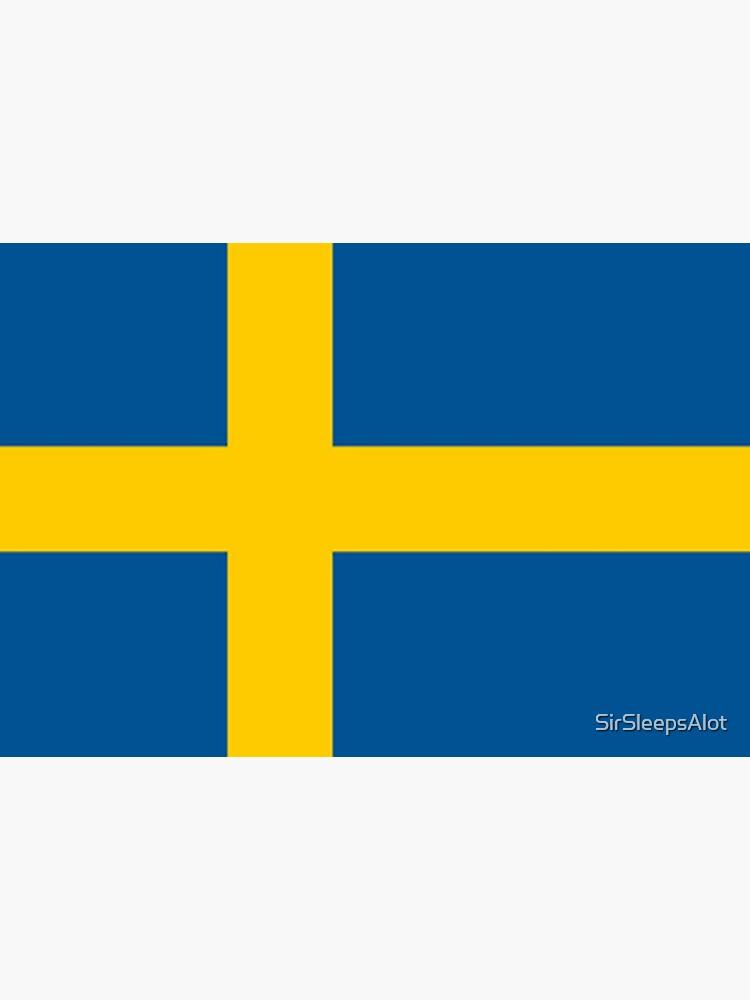 Sweden Flag  by SirSleepsAlot