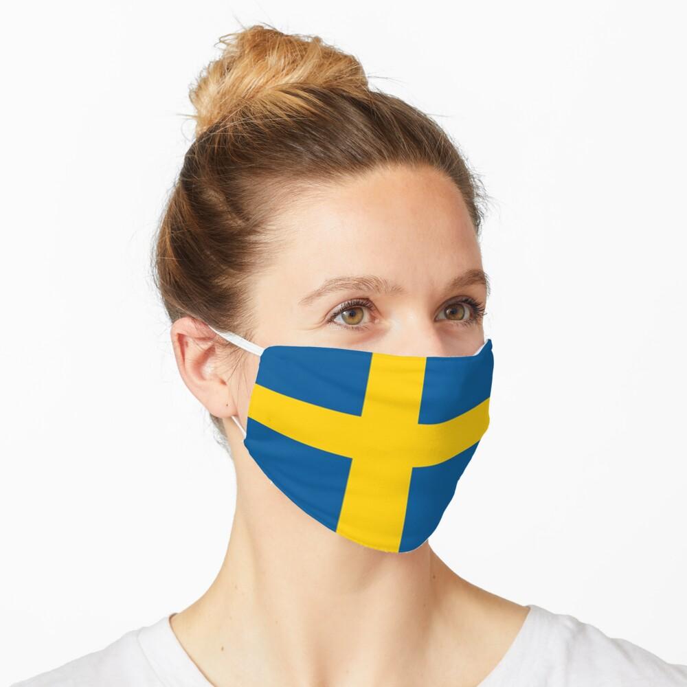 Sweden Flag  Mask