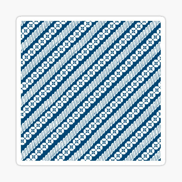 Batik Parang Kawung Sticker