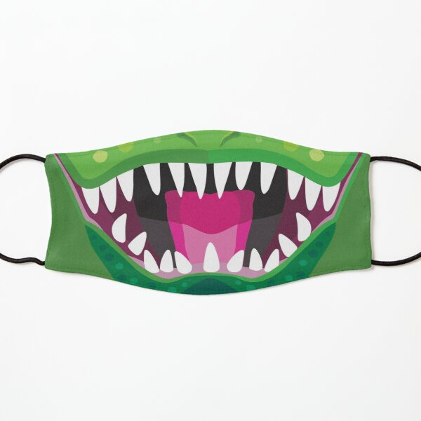 T-Rex Dinosaur with Open Mouth and Fangs Kids Mask
