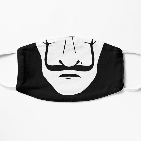 Dalí Black Mask Flat Mask