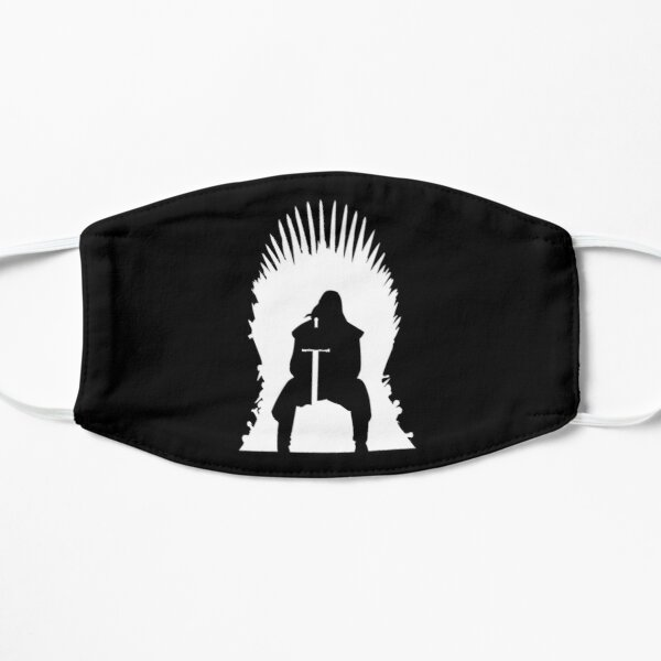 Silhouette Iron Throne Eddard Stark Flat Mask