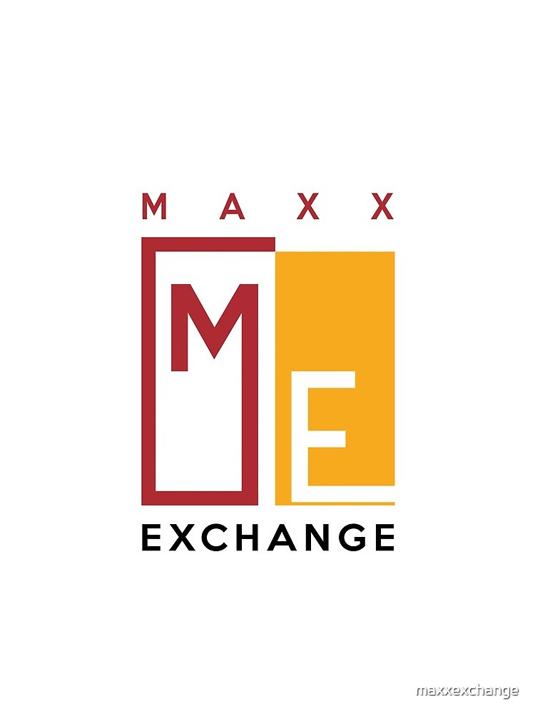 Maxx Exchange, Crimson and Gold Logo Design. by maxxexchange