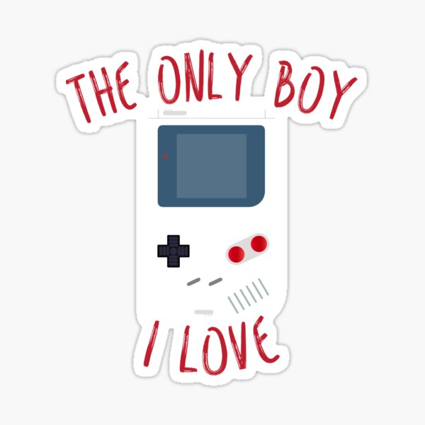The only boy I LOVE! Sticker