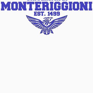 Universita di Monteriggioni (Blue) by coates888