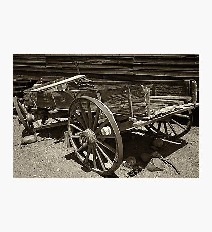 Wagon Wreak  Photographic Print