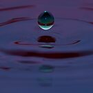 First Water Drop by Chris Ferrell