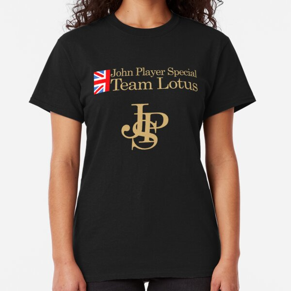 JPS John Player Special Team Lotus Shirt, Sticker, Hoodie Classic T-Shirt