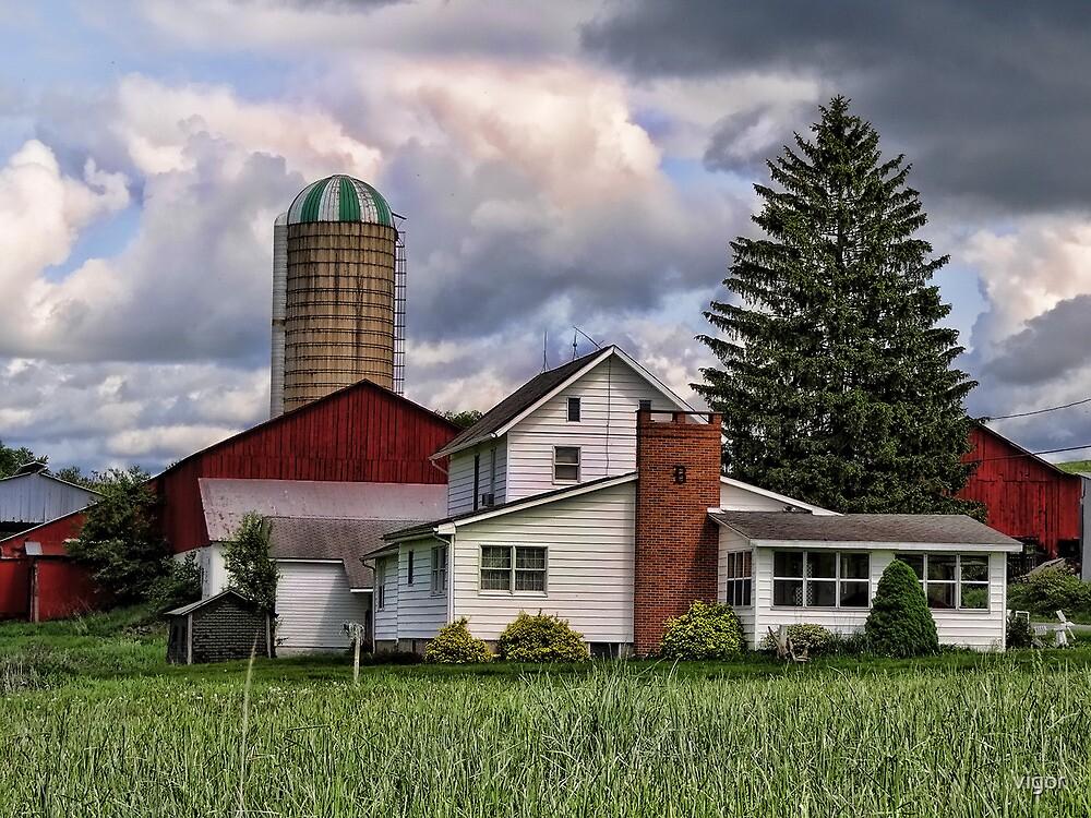 Farm house by vigor
