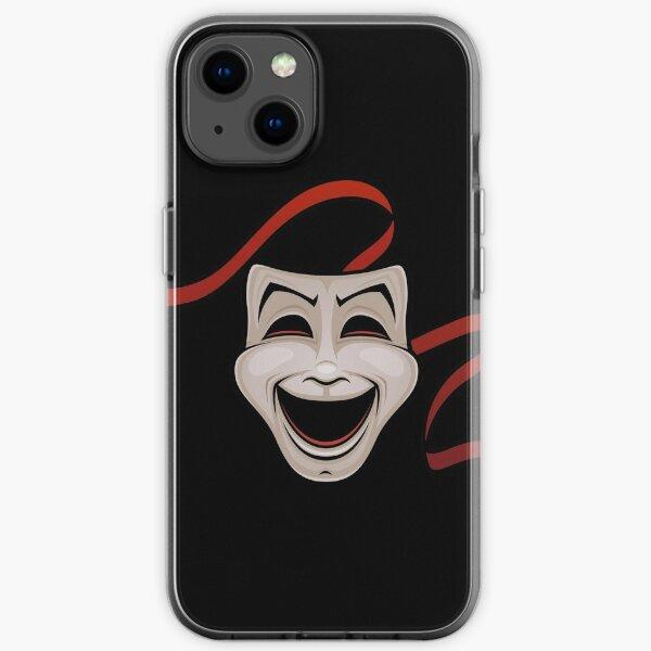 Theatre Face  iPhone Soft Case