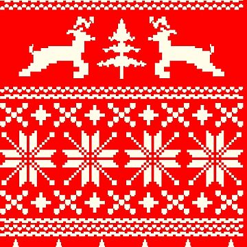 Ugly Xmas Shirt - Reindeer by nobrand