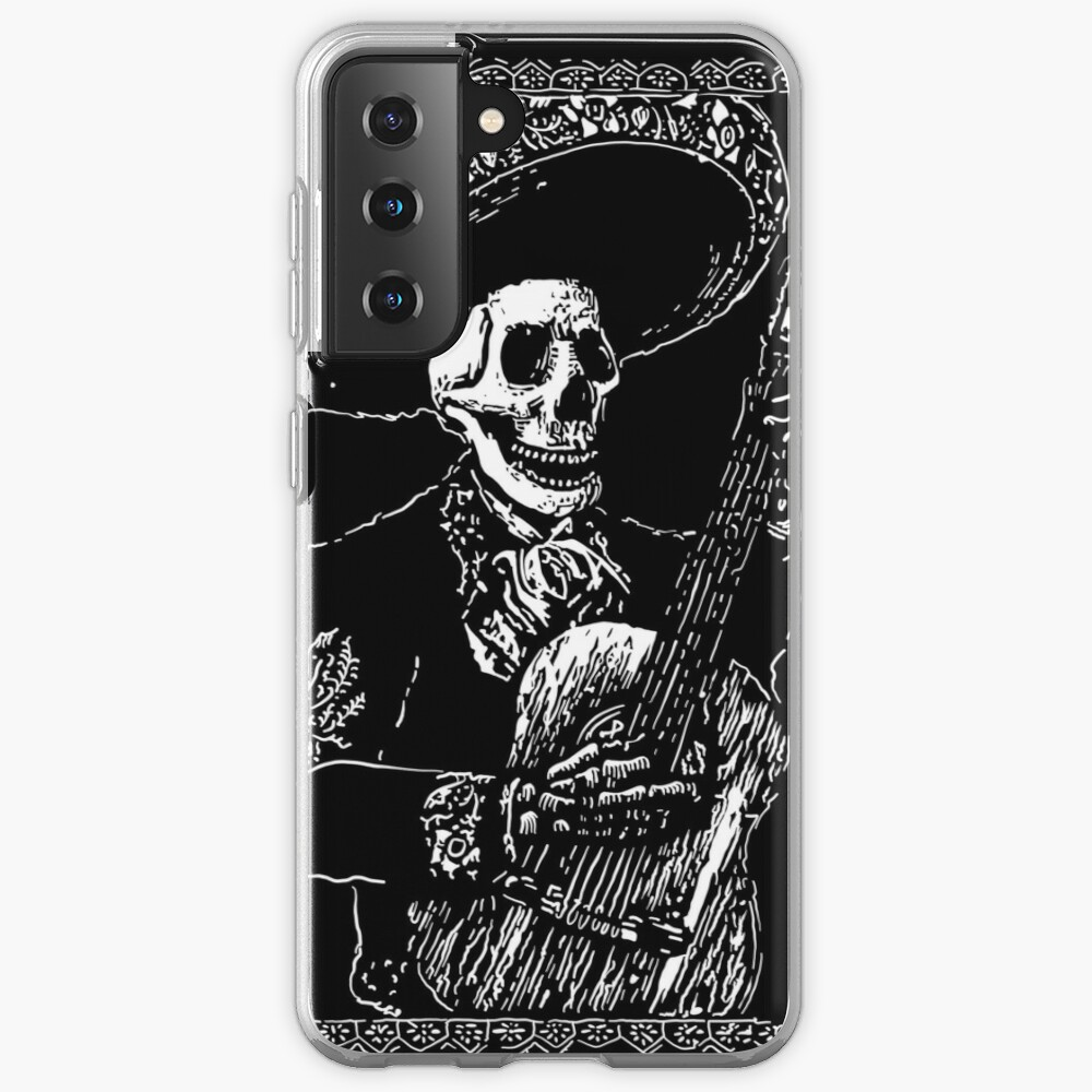 Day of the Dead Jack of Clubs  Case & Skin for Samsung Galaxy