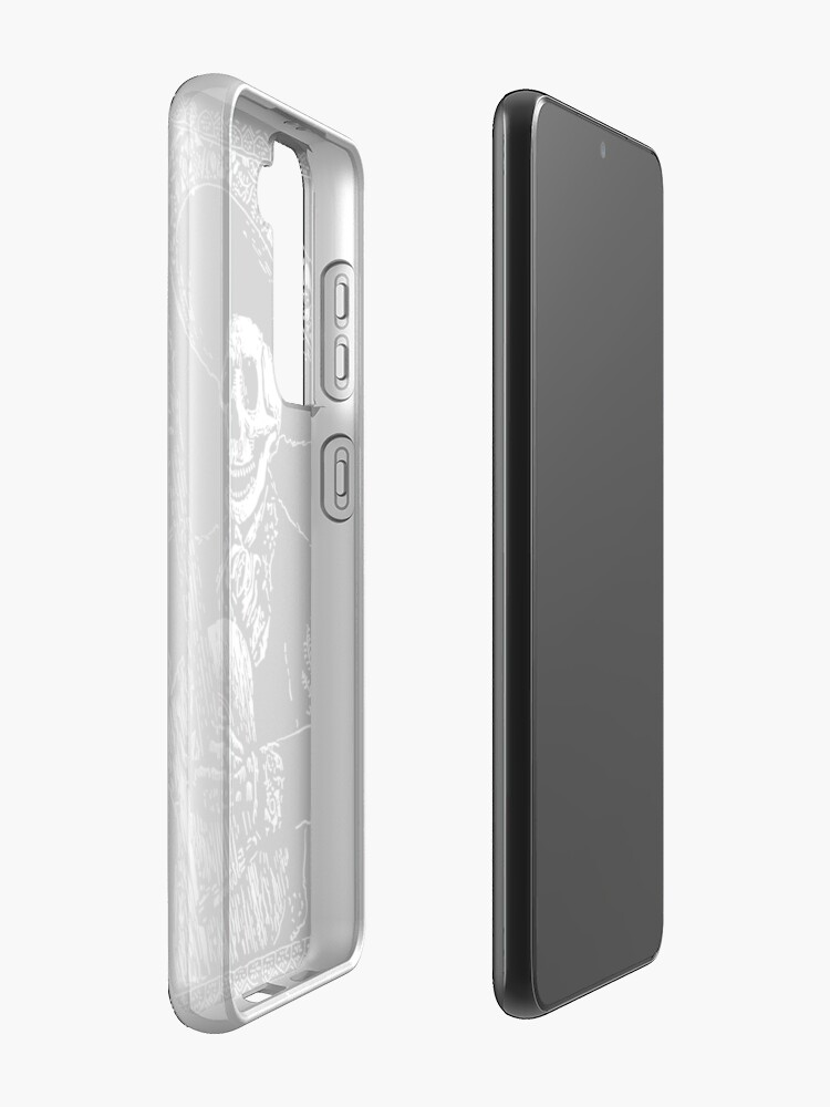 Alternate view of Day of the Dead Jack of Clubs  Case & Skin for Samsung Galaxy