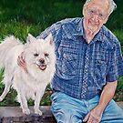 Best Friends portrait by whiterabbitart
