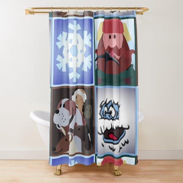 Yukon Squares Shower Curtain
