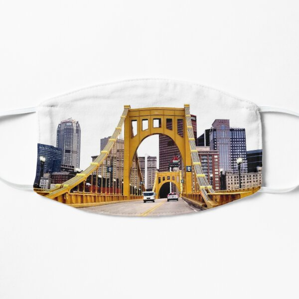 Gateway to the Heart Of Pittsburgh  Flat Mask