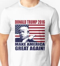 Donald Trump 2016 For President election 2016 T-Shirt