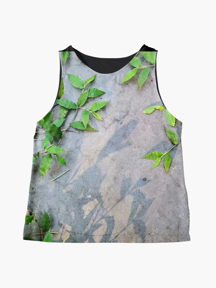 Alternate view of Wild ground cover in slate Classy Camo Sleeveless Top