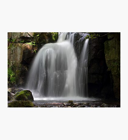 Waterfall at Lumsdale Photographic Print
