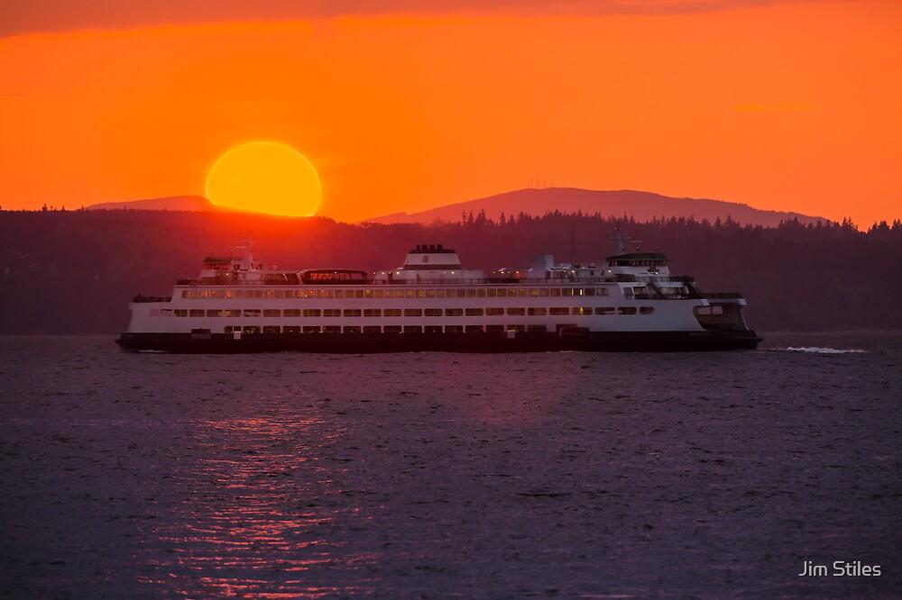 Sunset from Edmonds by Jim Stiles