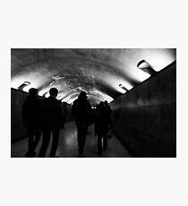 Paris Underground - Paris, France Photographic Print
