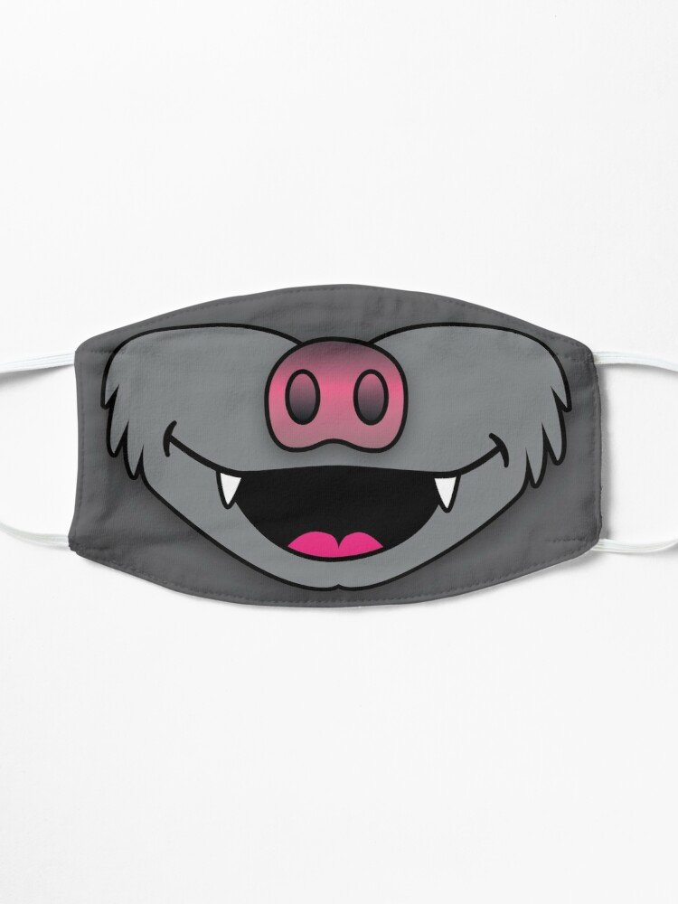 Alternate view of Bat Face Mask Mask