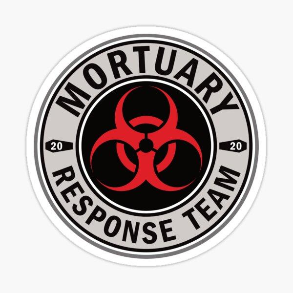 Mortuary Response Team Sticker