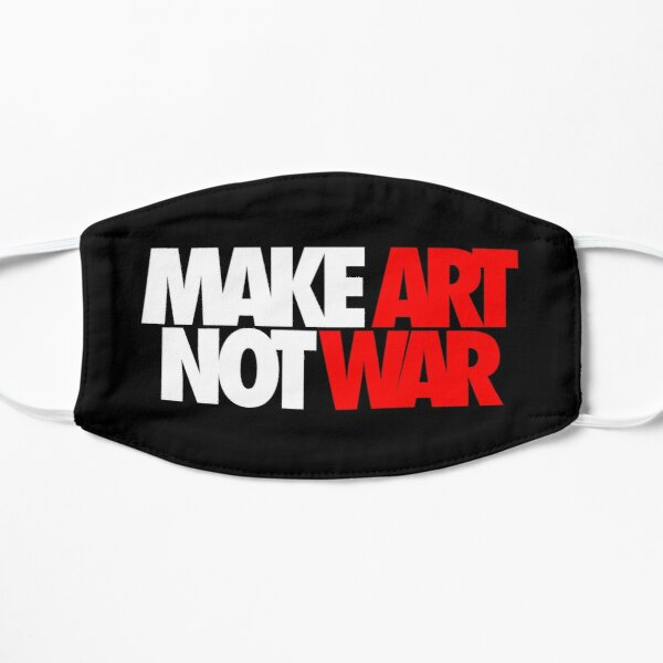 Make Art Not War Mask