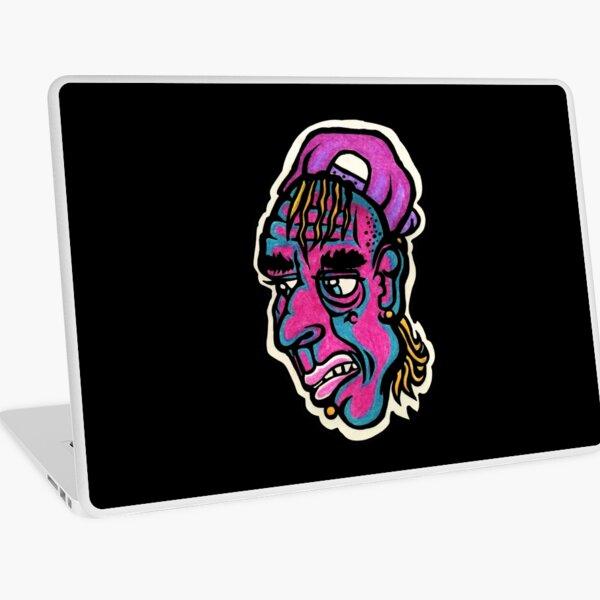 Burnout - Black Background Version Laptop Skin
